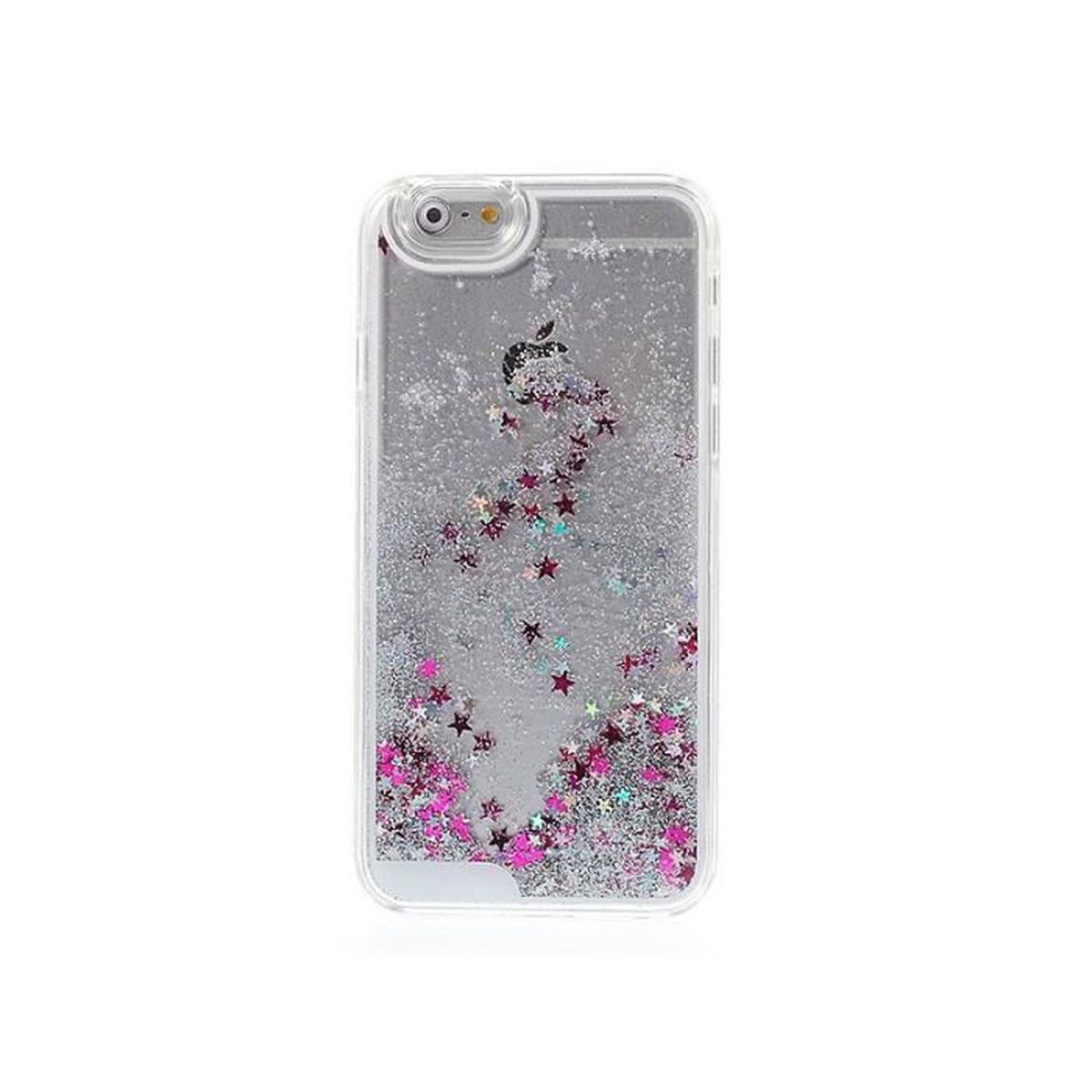 coque iphone 7 liquide coeur