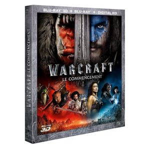 BLU-RAY FILM Blu-ray 3D Warcraft : le commencement