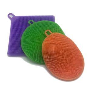 ÉPONGE VAISSELLE 3 ensembles de brosse à vaisselle en silicone créa