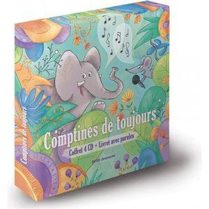 CD COMPTINES - ENFANTS Comptines de toujours - Coffret 4 CD