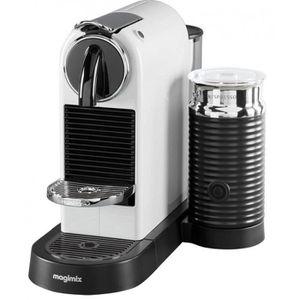 CAFETIÈRE Cafetière MAGIMIX - Nespresso Citiz & Milk Blanc (