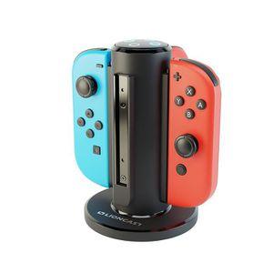 CHARGEUR CONSOLE Station de Charge Joy-Con pour Nintendo Switch, Ba