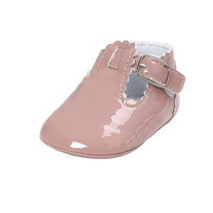 BOTTE Bébé Lettre Princesse Semelle Souple Chaussures Toddler Sneakers Souliers@KhakiHM szQLEudA9