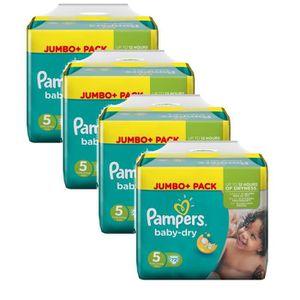 COUCHE Pampers Baby Dry Taille 5 Junior 11-25kg 288 Couch