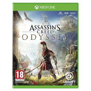 JEU XBOX ONE Assassin's Creed Odyssey Xbox One + 1 Porte Clé +