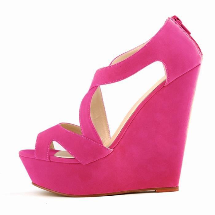 sandales a talons hauts avec plate-forme courtes decontractees chaussures a talons hauts de mariage chaussures bout ouvert bottines