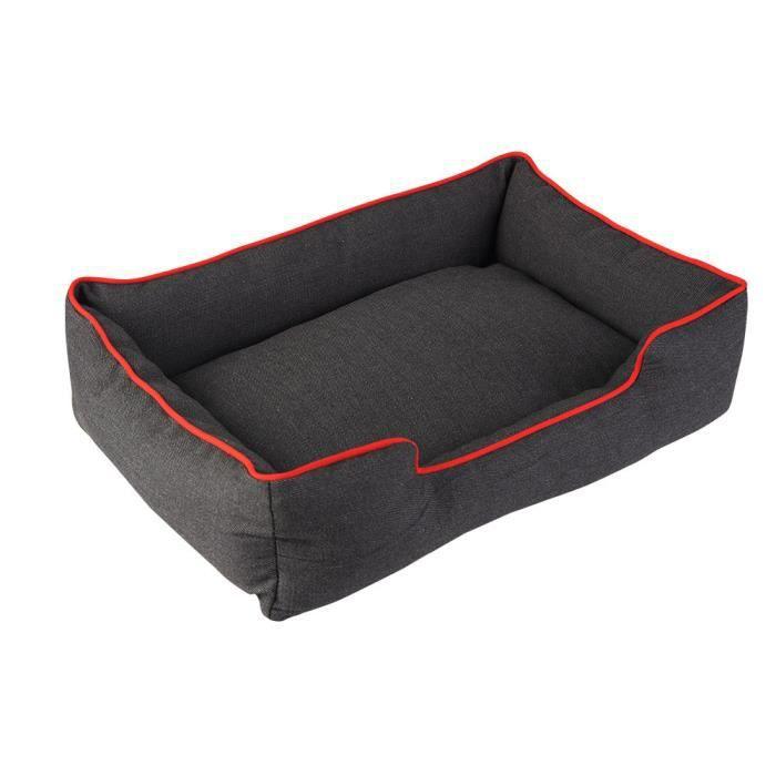 Chiot Chien Chat Denim Épais Robuste Mat Confortable Chaud Lit Douillet Cotten Maison Nestcxq*2565