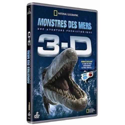 DVD DOCUMENTAIRE DVD National Geographic Monstres des mers 3D + Lun