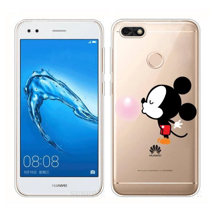 coque huawei y6 2017 mickey