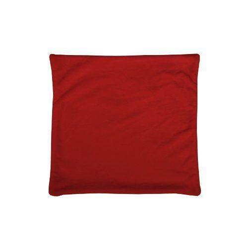Lovely Casa C65792003H Doudou Housse de Coussin Polyester Rouge 60