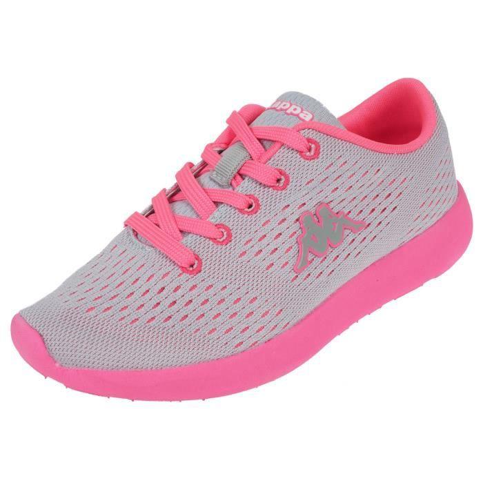 Chaussures mode ville Delis lace gris/rose