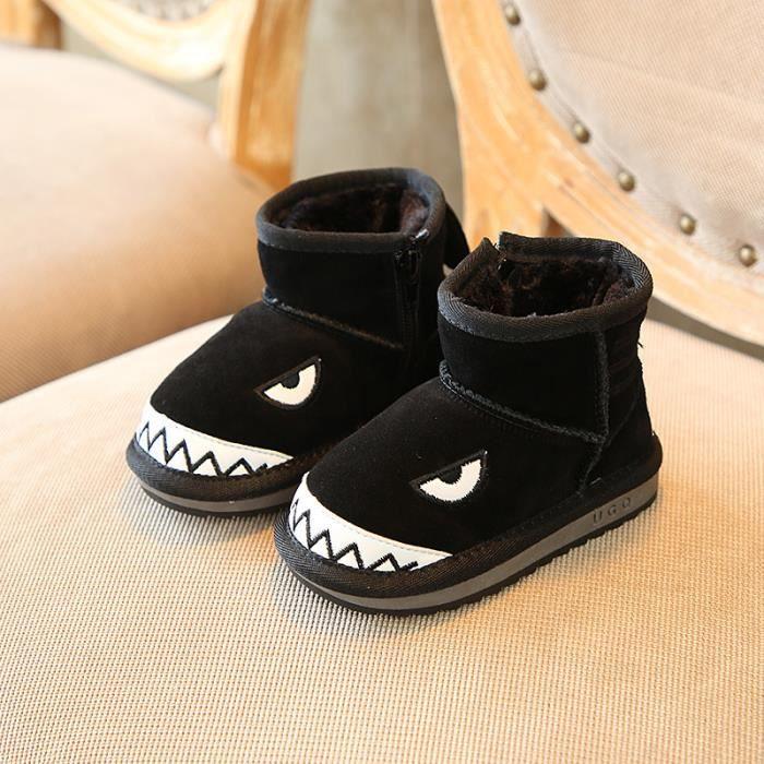 Enfants Chaussures Bottes Bébé Garçon filles Belle Bottes de neige