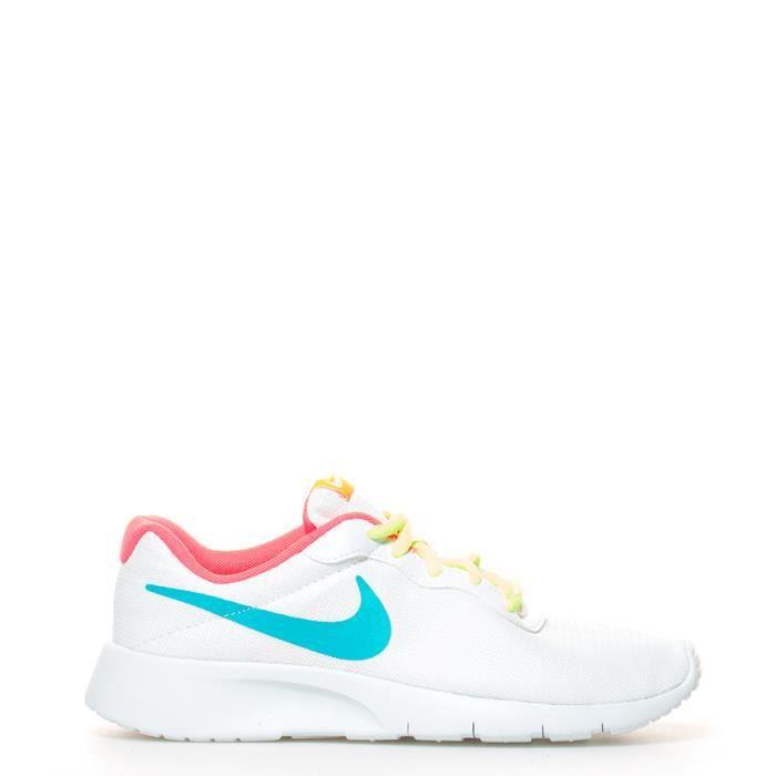 Nike - Chaussures gs blanc Tanjun