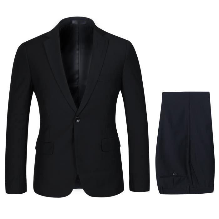 6d4881393c79c8 2018 costume pour homme 2 pièces,style d'affaire classique, col ...