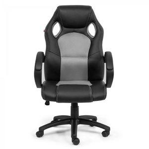 Fauteuil bureau noir confort Achat Vente Fauteuil bureau noir