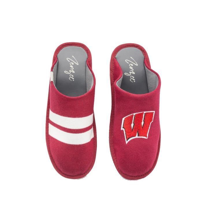 Collège Chaussons ncaa - Comfy Plate-forme Slip On Sneaker Knit - Parfait pour un usage intérieur - extérieur DQ2RM Taille-41