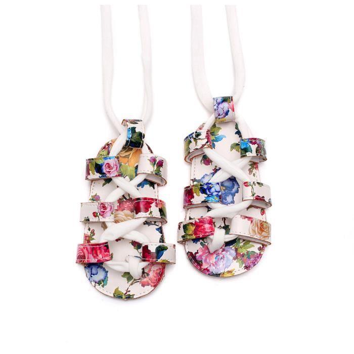 Em18658 Chaussures Pram Bandage D't Plates Bb Sandales En n enfant Souple Cuir Nouveau Lansman wq14fSf