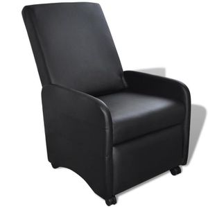 Fauteuil inclinable achat vente pas cher - Fauteuil en cuir inclinable ...