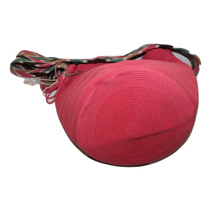 nouveau authentique wayuu 100% colombien le plus fin à la main multi couleur sac à bandoulière (4) DDIQ8