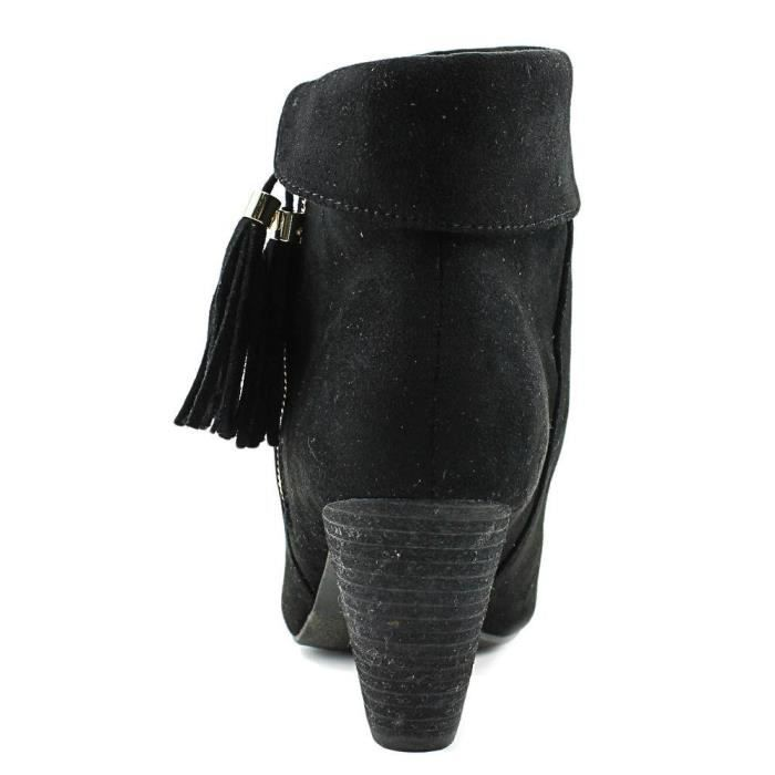 Womens Moriah Closed Toe Ankle Suede Fashion Boots BX4ML Taille-39 1-2