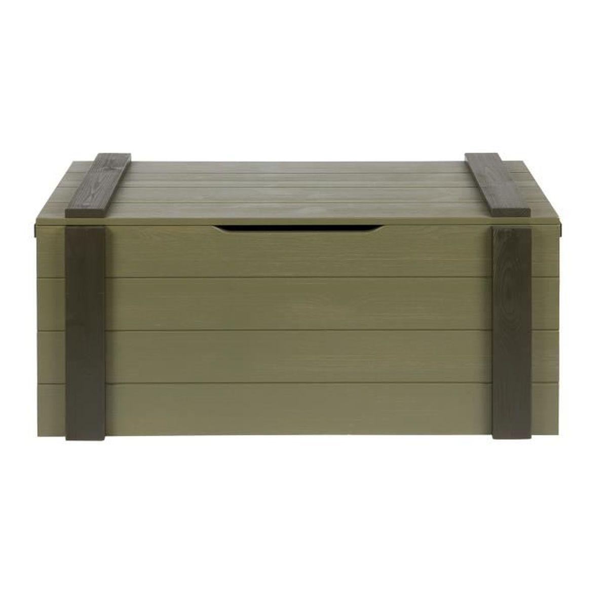 coffre de rangement en pin achat vente pas cher. Black Bedroom Furniture Sets. Home Design Ideas