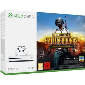 CONSOLE XBOX ONE NOUV. Xbox One S 1 To PLAYERUNKNOWN'S BATTLEGROUNDS + Ge