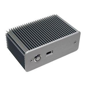 BOITIER PC  Impactics D1NU1-S - Format ultra petit - argenté(e
