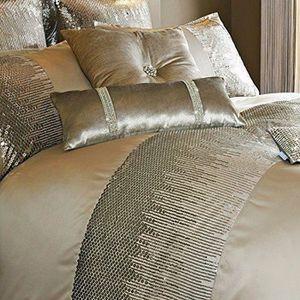 housse de couette or achat vente pas cher. Black Bedroom Furniture Sets. Home Design Ideas