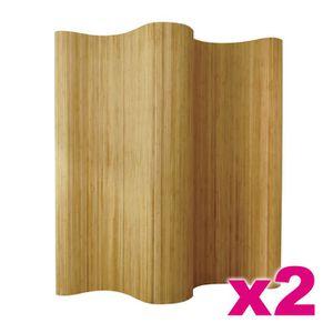 paravent bambou achat vente paravent bambou pas cher cdiscount. Black Bedroom Furniture Sets. Home Design Ideas
