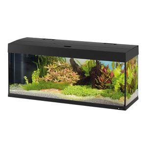 AQUARIUM DUBAI 120 Aquarium en verre noir 121x41x56 cm