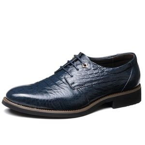 e0c542d9b Chaussures richelieu cuir homme bleu - Achat / Vente pas cher