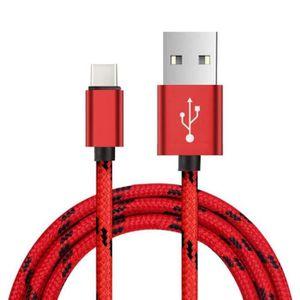CHARGEUR TÉLÉPHONE 2M Type de câble C USB Data Sync Charge  pour Sams