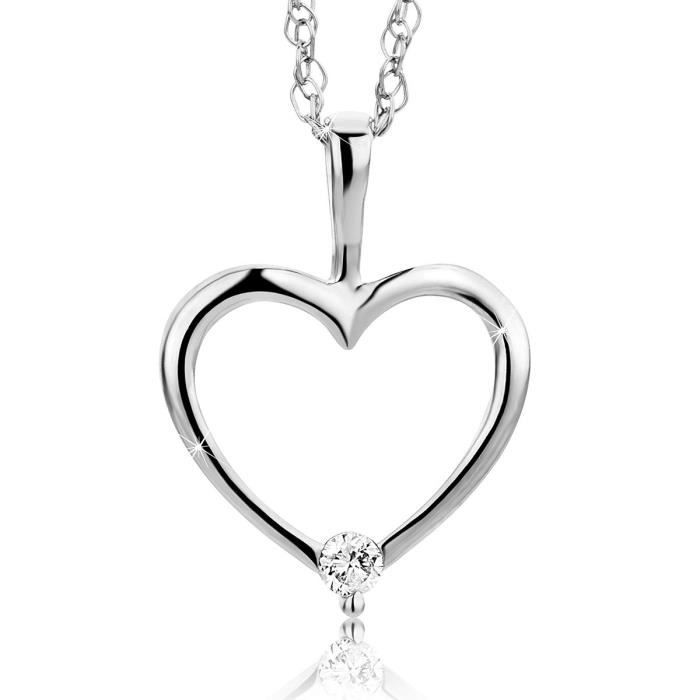 Bijoux femme collier coeur en or - Achat   Vente pas cher b4c2d3ccadb8