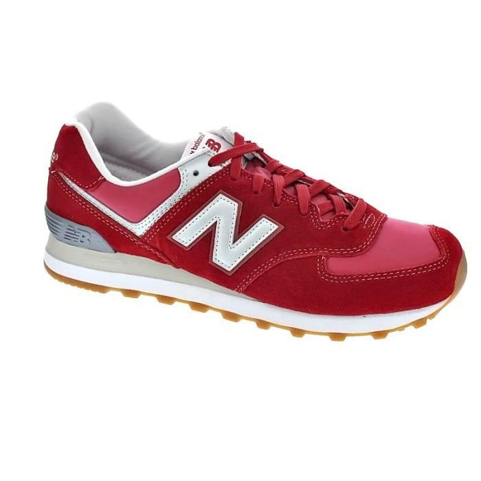 Achat Chaussures Homme 574 New Basses Modèle Rouge Balance 43AjLR5