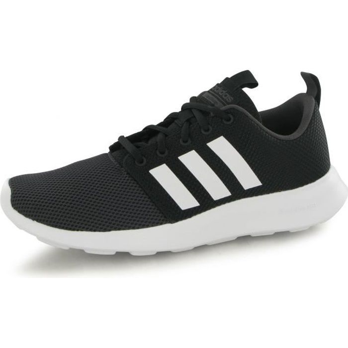 buy online a58b4 14b86 BASKET Adidas Neo Cloudfoam Swift Racer noir, baskets mod
