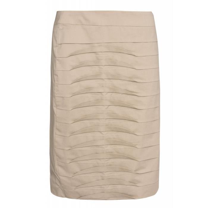 232814c634700a PATRIZIA DINI by heine Pin-jupe femme beige dans le look Beige Beige ...