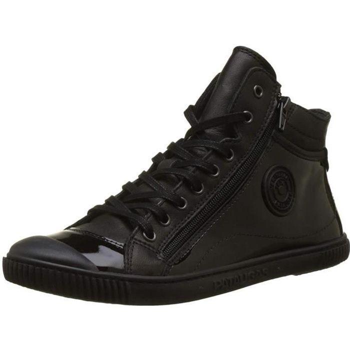 75ac2b7b3de10 Bottines   boots bono femme pataugas 627108 Noir Noir - Achat ...