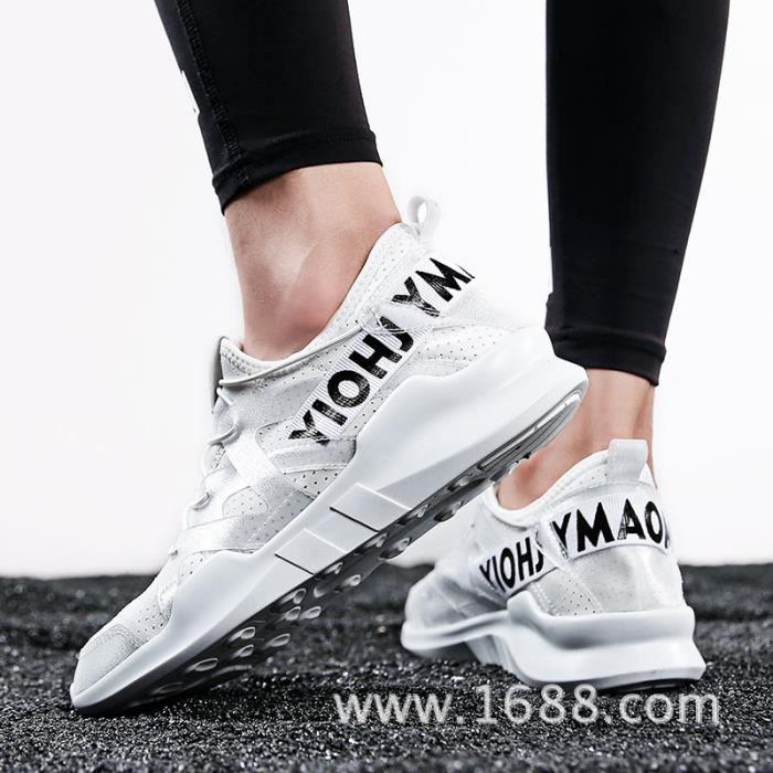 Chaussures de course pour hommes nouveaux Chaussures de sport respirantes à mailles SBQOjL4BT