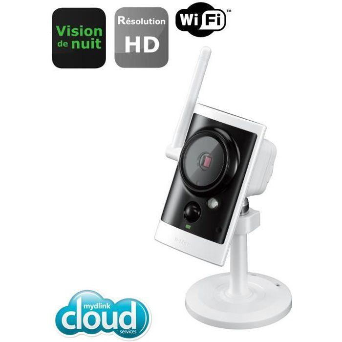 D-LINK Caméra WIFI - DCS-2330L - Pour utilisation extérieure jour / nuit - Avec carte micro SD 16Go