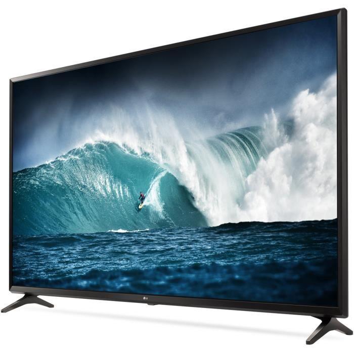 Lg 55uj630v tv led 4k hdr 138 cm 55 smart tv 3 x hdmi classe énergétique a