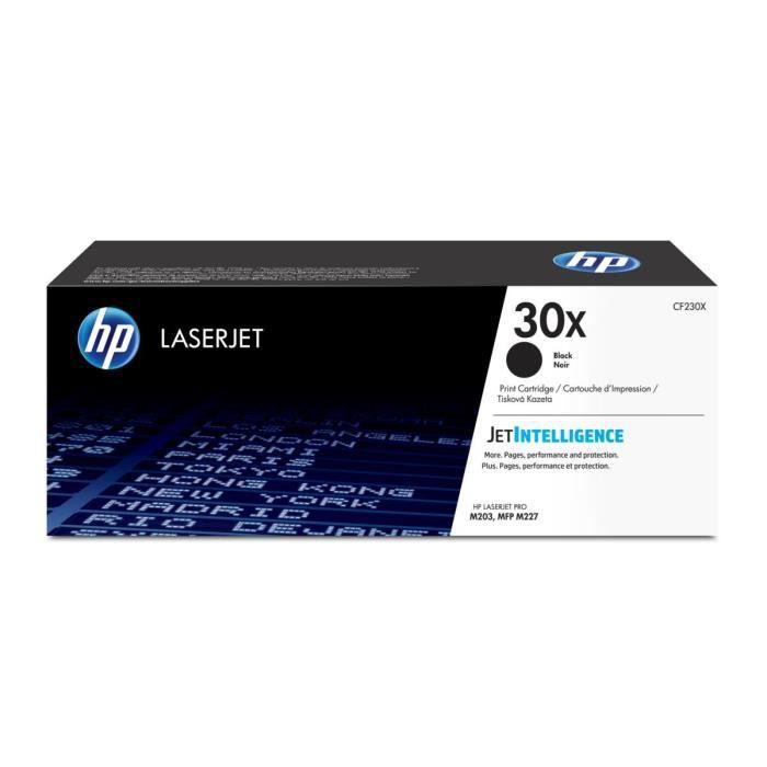 HP 30X Cartouche de Toner Authentique grande capacité (CF230X)