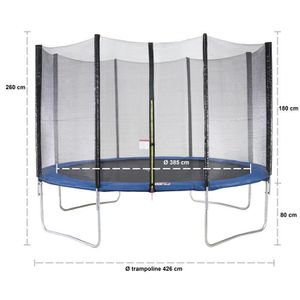 trampoline kangui 360 achat vente jeux et jouets pas chers. Black Bedroom Furniture Sets. Home Design Ideas