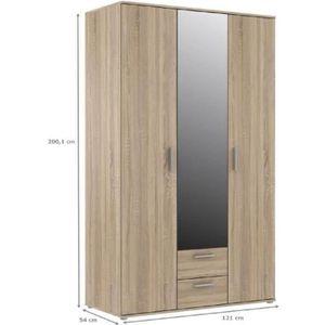 armoire largeur 70 cm achat vente pas cher. Black Bedroom Furniture Sets. Home Design Ideas