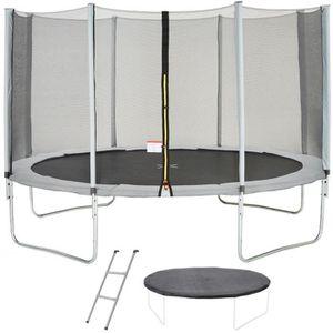 trampoline achat vente pas cher soldes d s le 10 janvier cdiscount. Black Bedroom Furniture Sets. Home Design Ideas