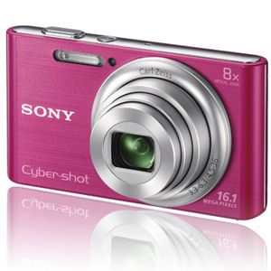 APPAREIL PHOTO COMPACT SONY DSC-W730 Compact Rose - CCD 16MP Zoom 8x
