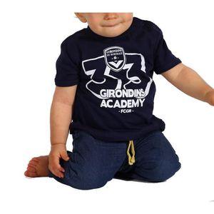 T-SHIRT FCGB Tee shirt Girondins Academy - Bébé - Marine