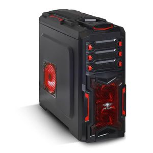 BOITIER PC  Boitier Gamer X-FIGHTERS 51 Red Army