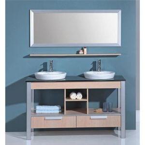 meuble sous lavabo achat vente meuble sous lavabo pas cher soldes d s le 10 janvier cdiscount. Black Bedroom Furniture Sets. Home Design Ideas