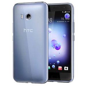 COQUE - BUMPER Coque silicone transparente pour HTC U11