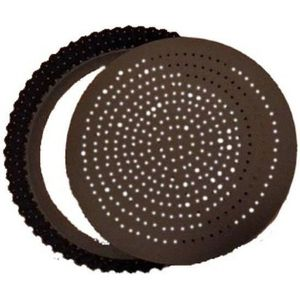 MOULE  MOULE A TARTE TOURTIERE PERFOREE CANNELLEE FOND AM